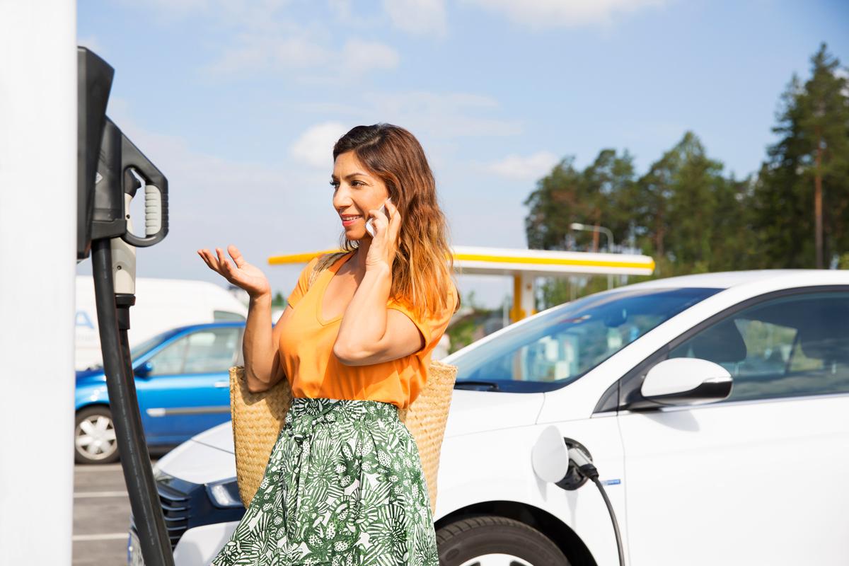 Kontakta oss för frågor om laddning av elbil