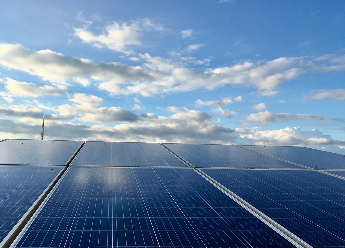 Solceller till företaget