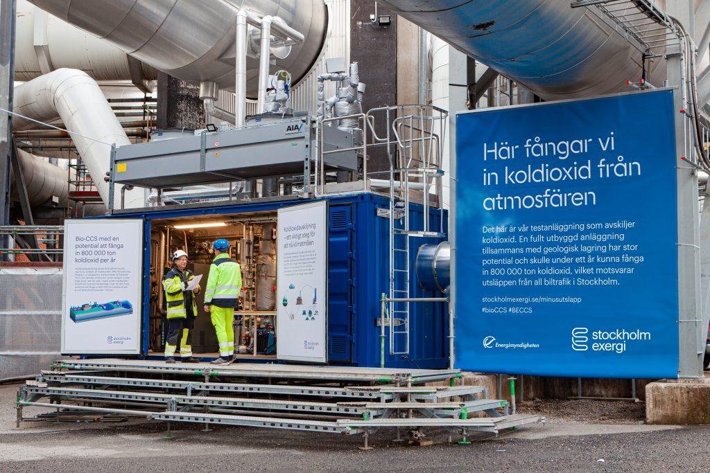 Stockholm Exergi bio-CCS