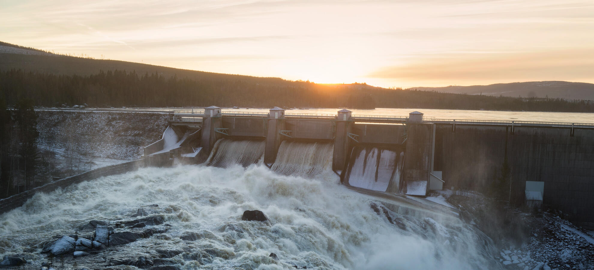 Picture of hydro plant